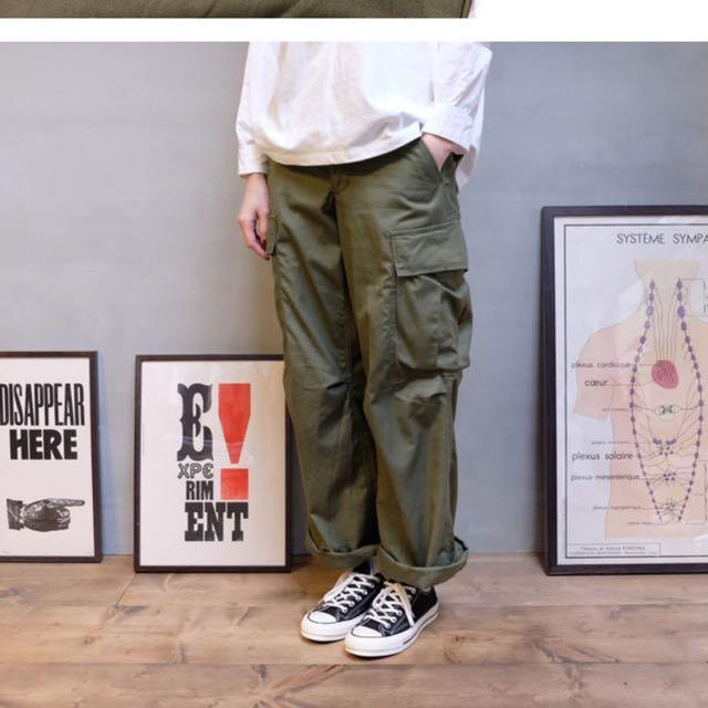 降價 Vintage Us Military 軍褲 Olive ma1 m65 m51
