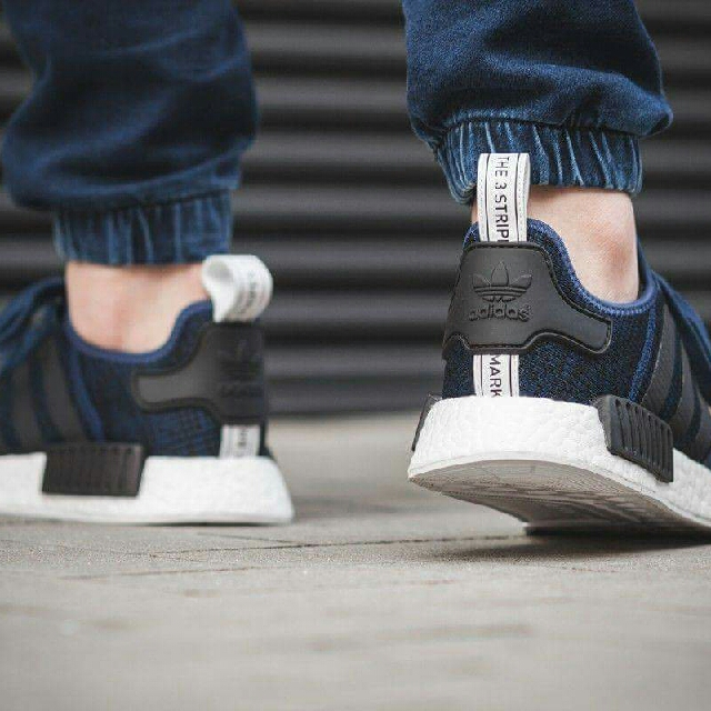 7aedbc2c0 Adidas NMD R1 Blue navy white core black