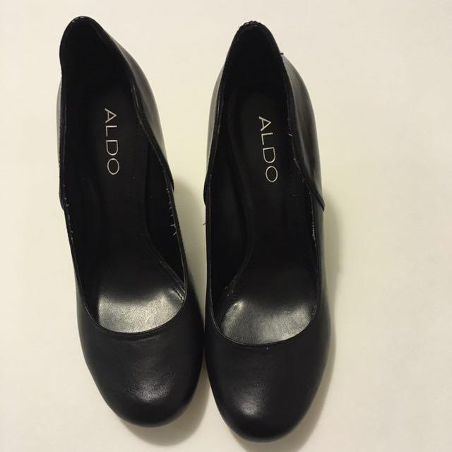 ALDO Black Germine heels