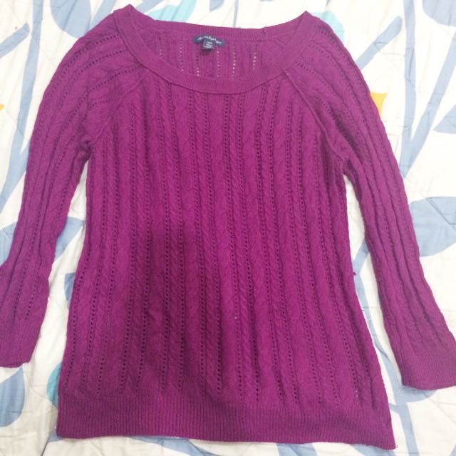 American eagle Purple longsleeves