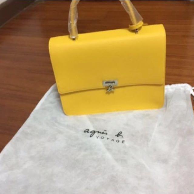 降價Anges.b 日本限定防刮皮革包大包