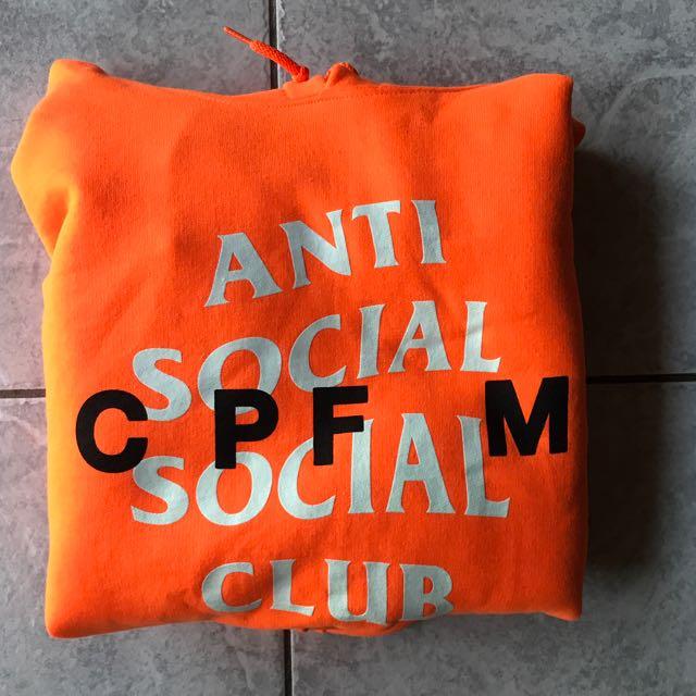 Anti Social Social Club x Cactus Plant Flee Market hoodie - Ready to ship