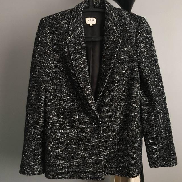 Aritzia Wilfred Parc jacket blazer