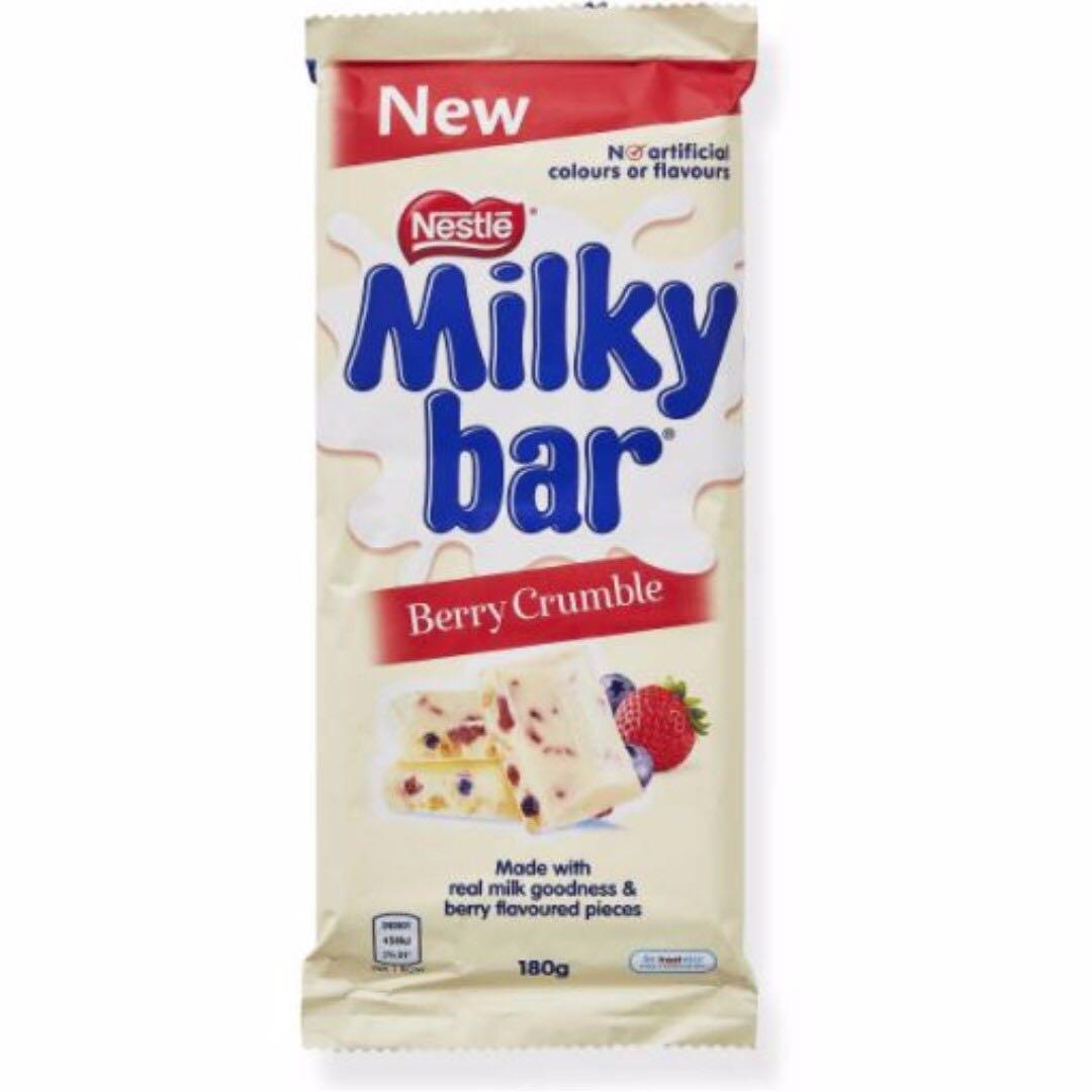 [AUSSIE CHOCS] Milky Bar Berry Crumble (180g)