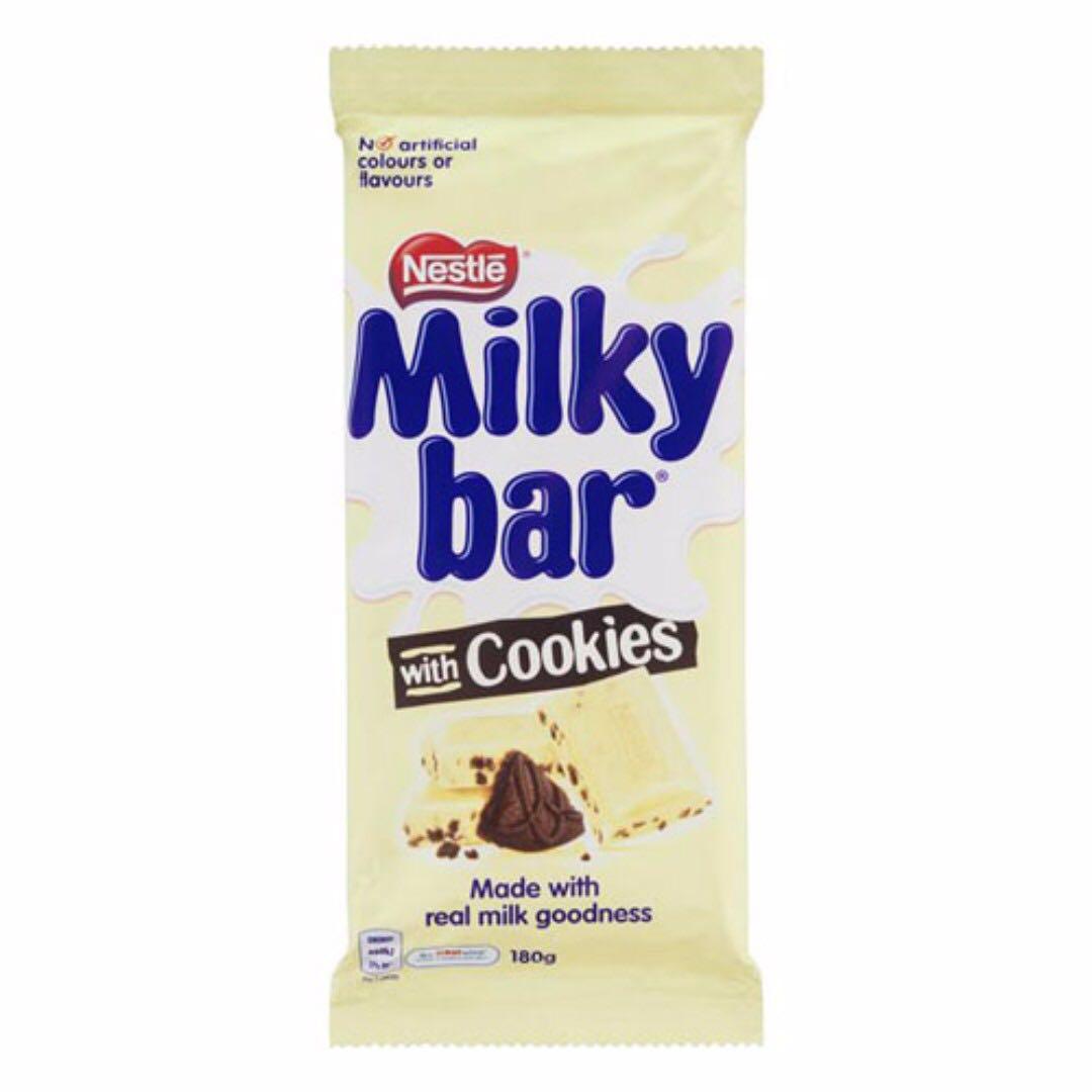 [AUSSIE CHOCS] Milky Bar with Cookies (180g)