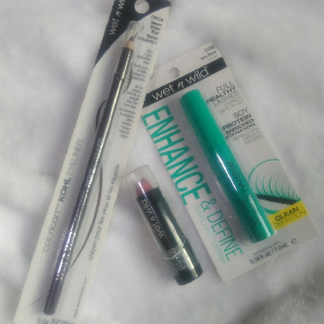 AUTHENTIC WET N WILD MASCARA AND BROW PENCIL