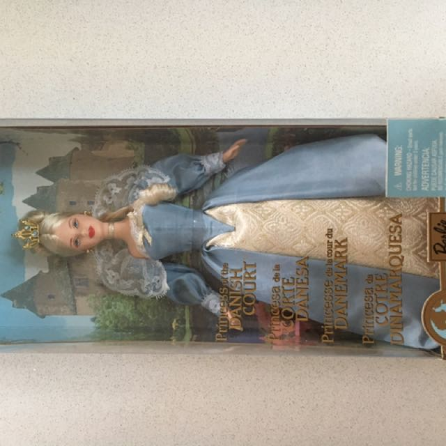 Barbie Collectibles princess of the Danish court
