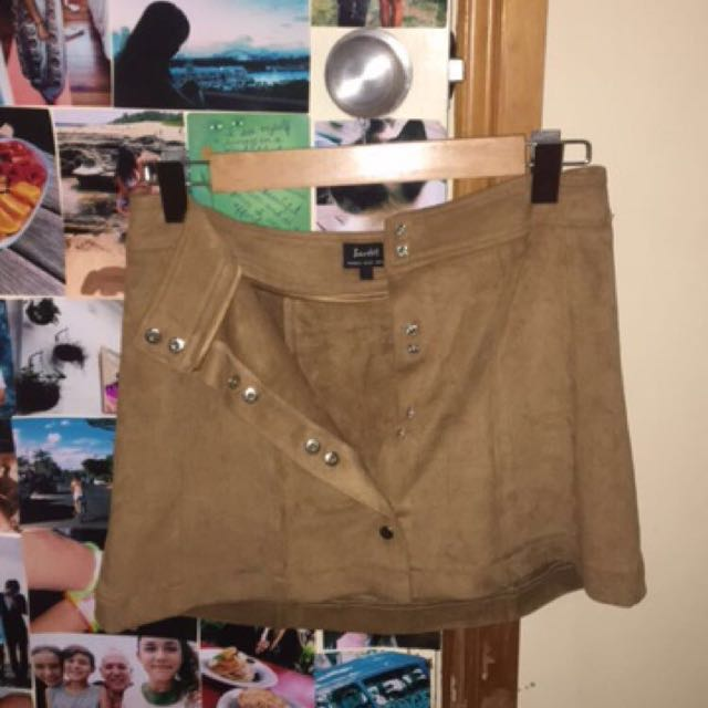 Bardot Tan Skirt