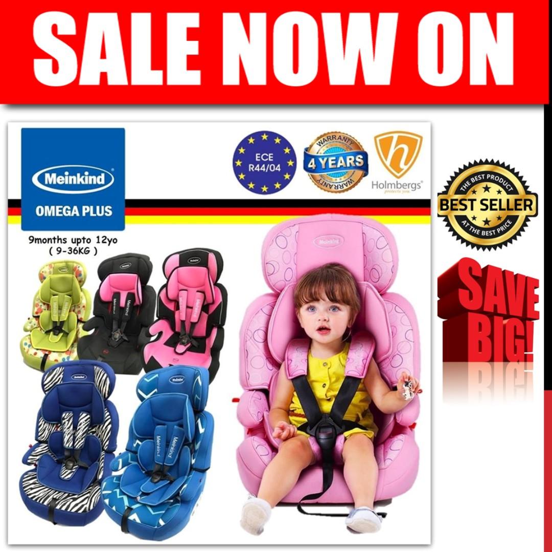951f4f8dc17 Big Save! Meinkind Omega Booster Car Seat (9mth-12yo)