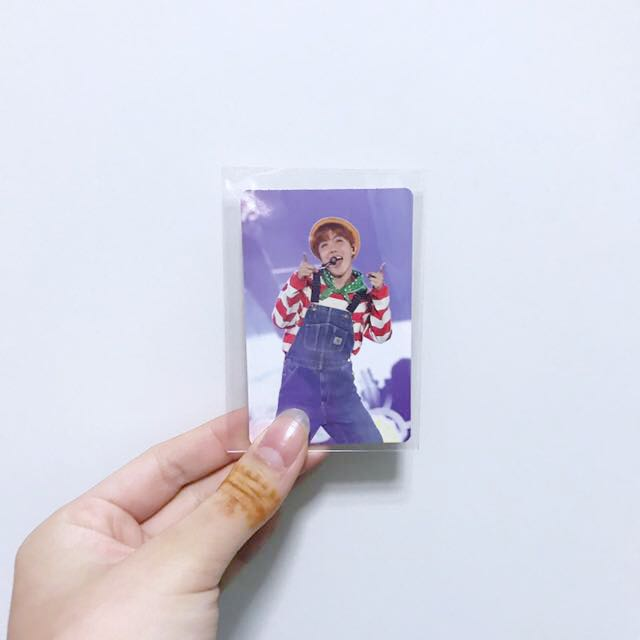BTS JHOPE 3RD MUSTER DVD PHOTOCARD