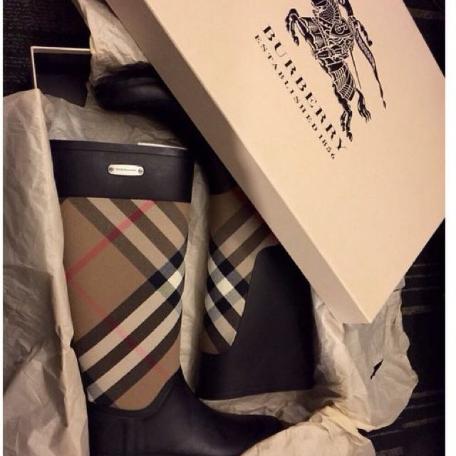 Burberry AUTHENTIC Rainboots