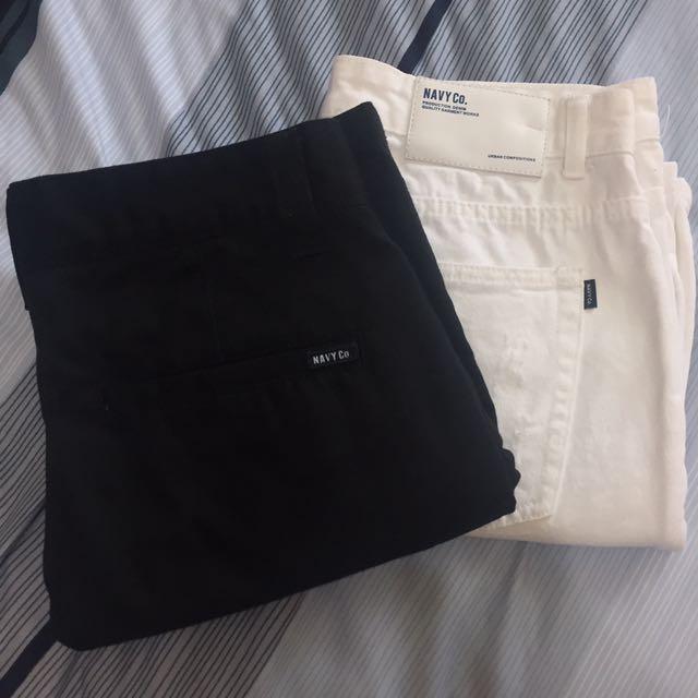 CACO NAVY 短褲