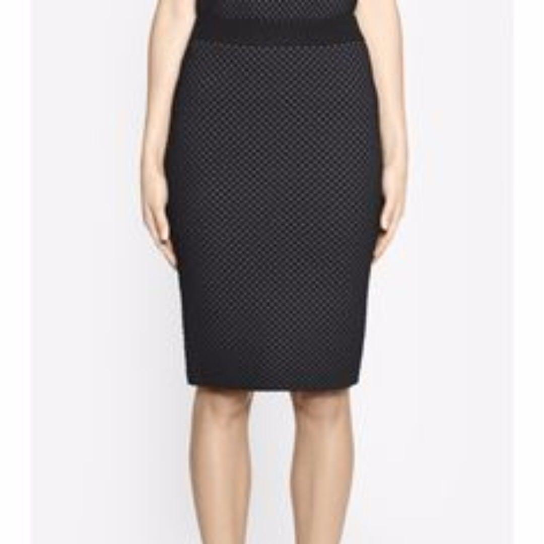 Camilla & Marc Billie Holiday Skirt in Black AU Size S