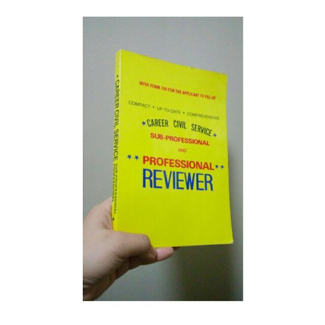 Career Civil Service Exam Reviewer