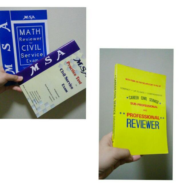 Civil Service Exam Reviewer Bundle