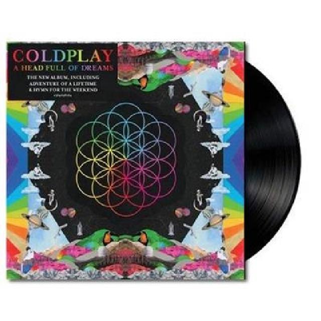 """Coldplay - A Head Full of Dreams LP (2 × 12"""" Records)"""