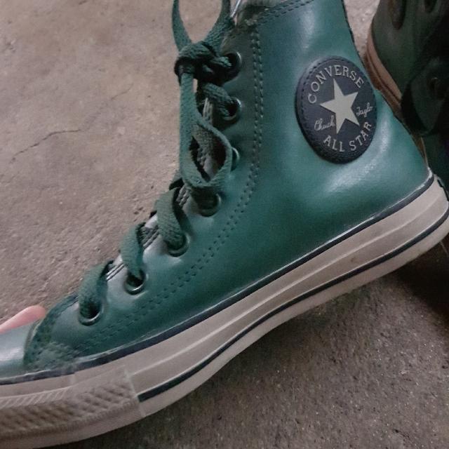5bb6138bbe8f2b Converse Chuck Taylor ALL STAR Rubber Green
