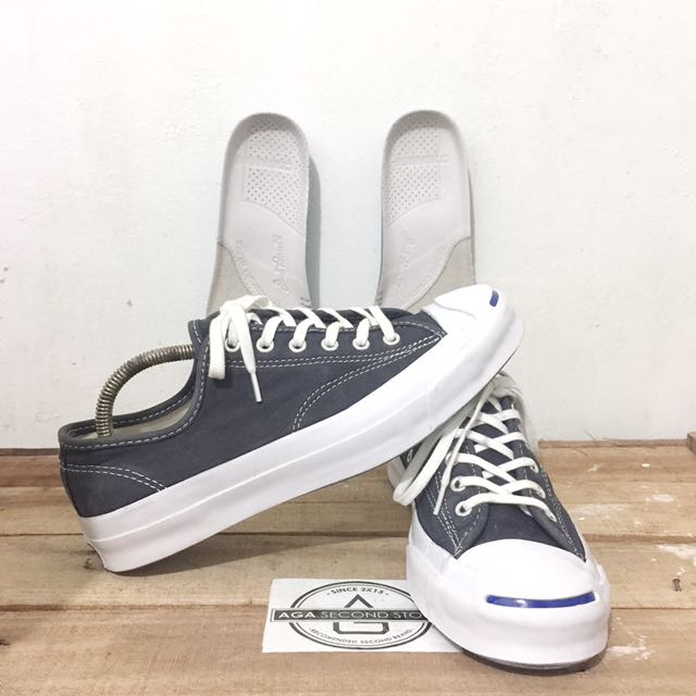6260ad06e3fb Converse JackPurcell Signature Leather navy