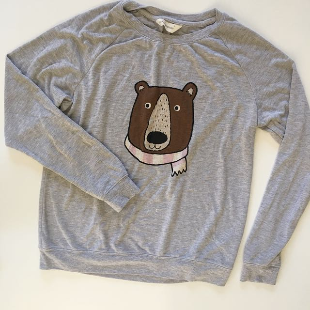 Cute bear top from Peter Alexander in size L