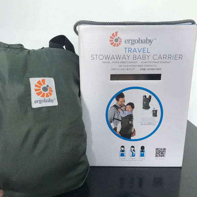 def6c121f82 Ergobaby Stowaway Baby Carrier on Carousell