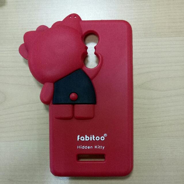 Fabitoo Case Hidden Kitty For Redmi Note 3
