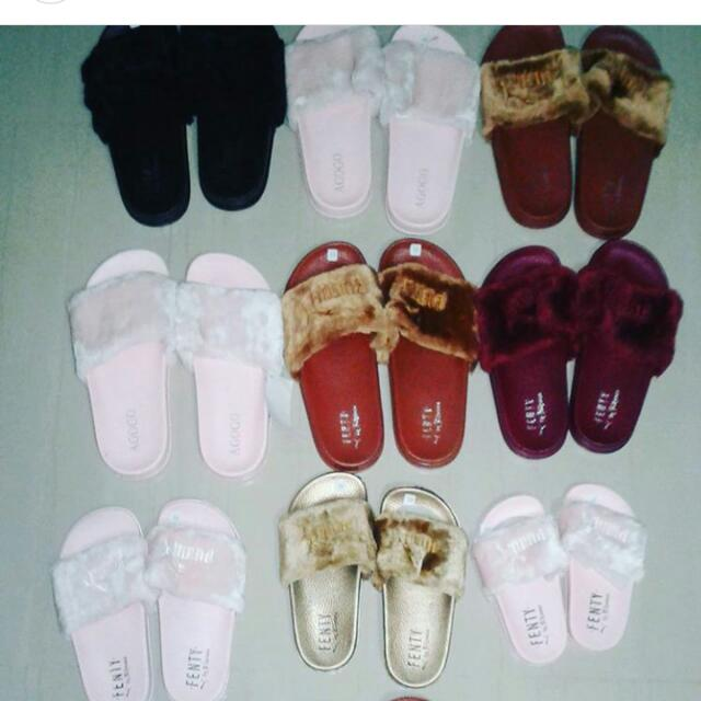 Fenty Slippers