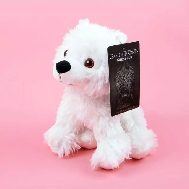 Game of Thrones Direwolf Cub - Ghost Jon Snow Plush Toys Doll