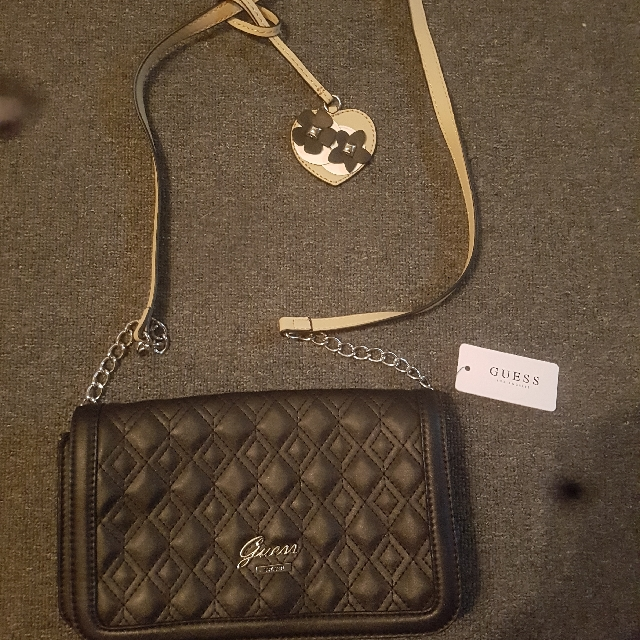 Genuine New Guess Clutch/Crossover Bag