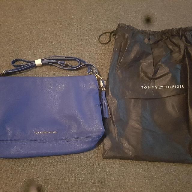 Genuine Tommy Hilfiger Blue Bag