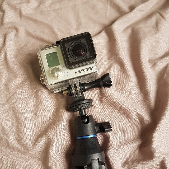 Gopro Hero 3 with LCD screen
