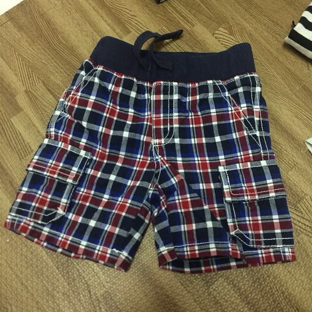 Gymboree格子褲