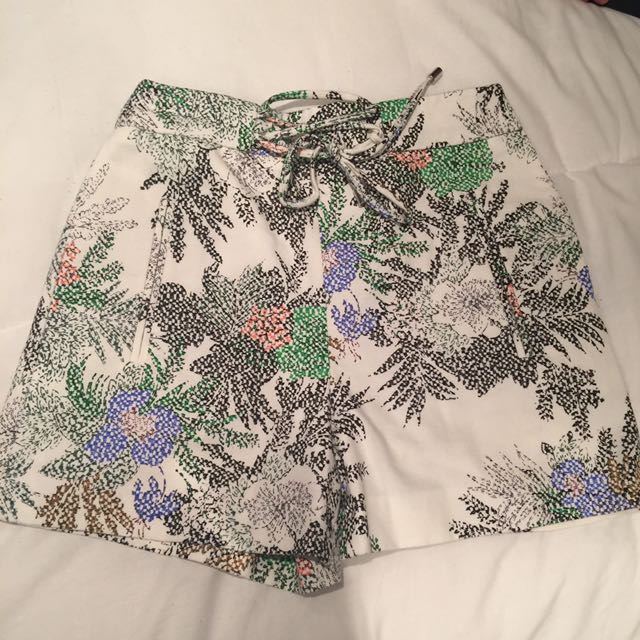 High waisted Zara dress shorts