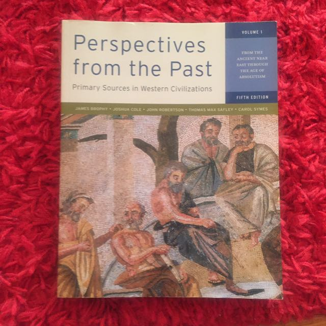 HIS243: Perspectives from the Past Vol 1&2/  Western Civilizations Vol 2