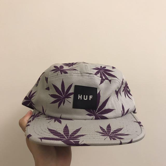 Huf 灰底紫葉 五分帽