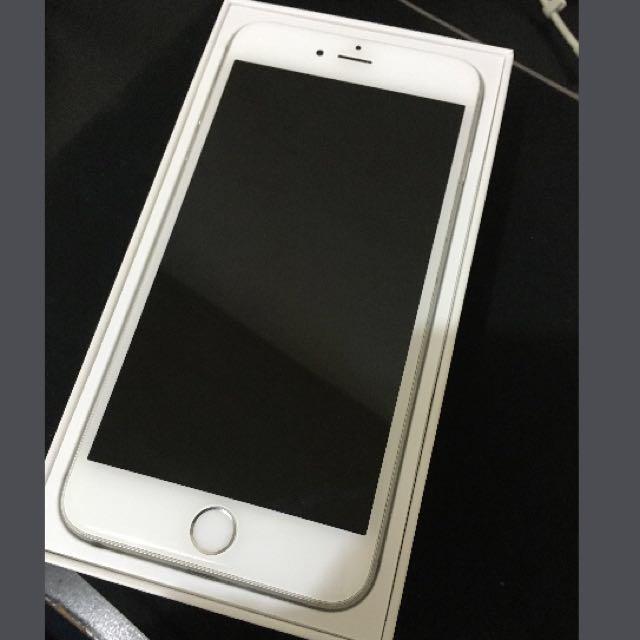 (降)iPhone 6Plus 64G 銀色