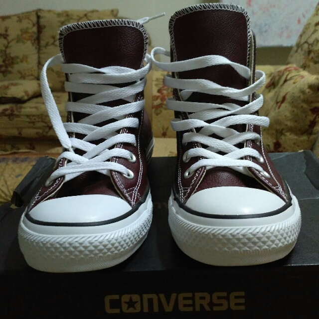 the best attitude 969b3 6d9a4 ... order kasut converse leather mens fashion footwear on carousell 3a3db  51beb coupon for kasut converse size 4.5us womens fashion shoes ...
