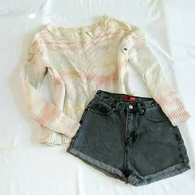 Knitted Multicolored Sweater