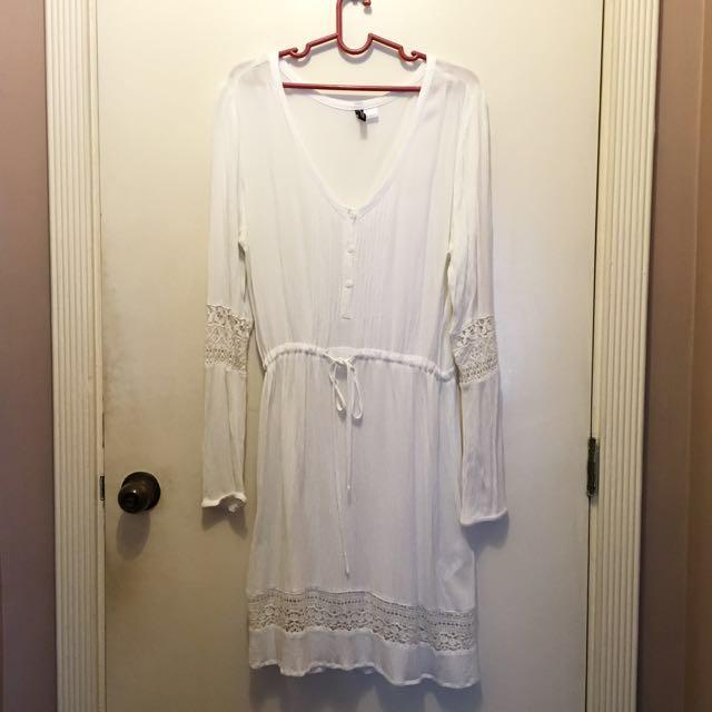 Lacey White H&M Dress