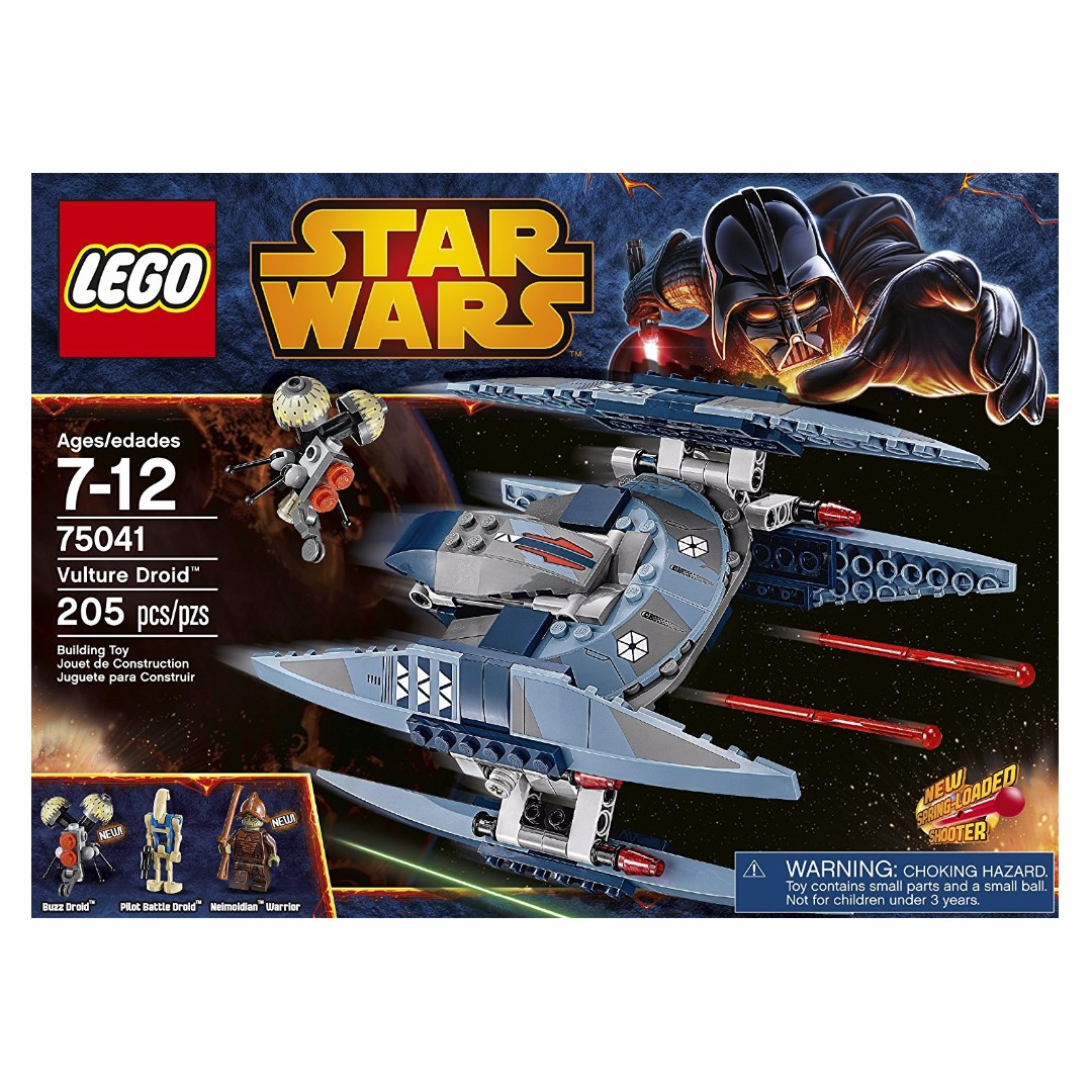 Lego Star Wars 75041 Vulture Droid Retired Product Toys