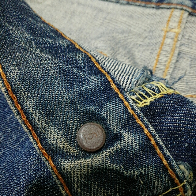 levis big E button 6, Men\'s Fashion, Clothes on Carousell