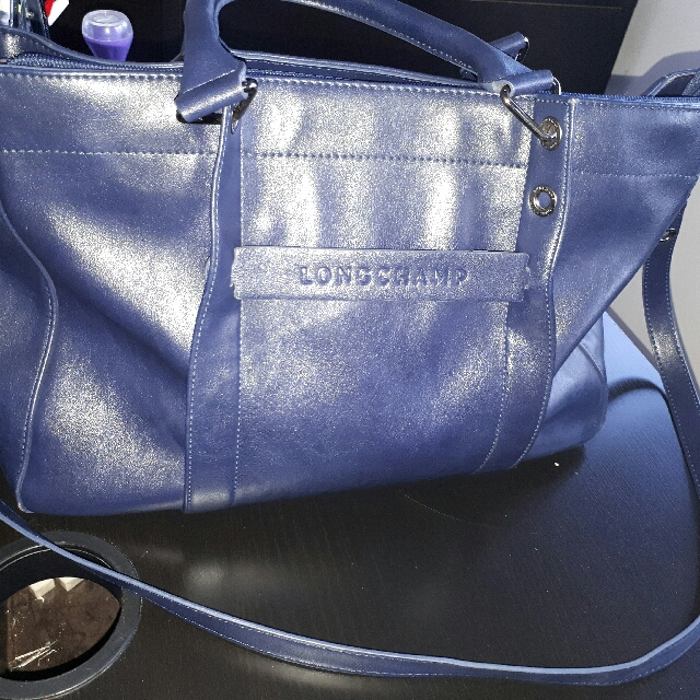 Longchamp Biru Navy