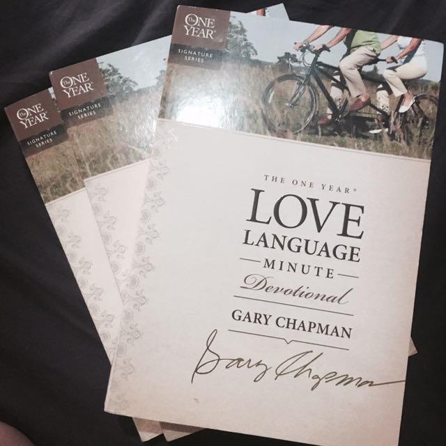 Love Language by Gary Chapman