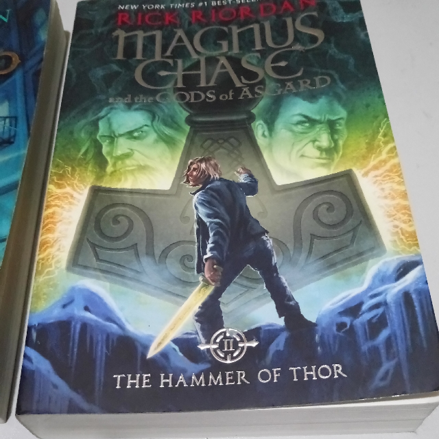 Magnus Chase And The Gods Of Asgard Hammer Thor Books