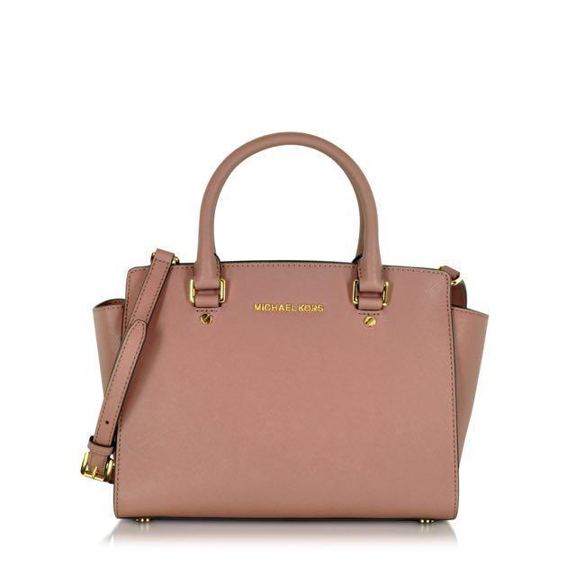 82fd36073f79 czech michael kors selma saffiano leather medium satchel womens fashion  8aa99 1e749