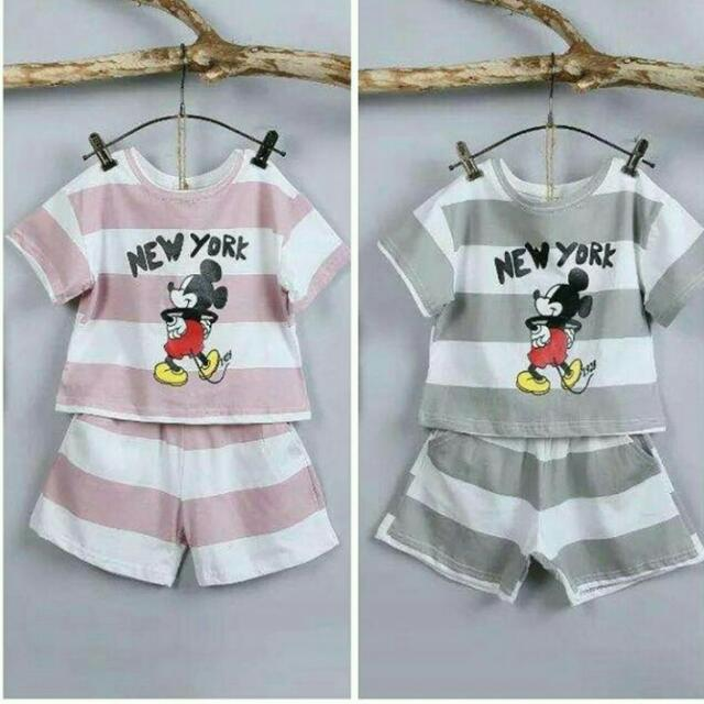 Mickey Mouse Set Pink