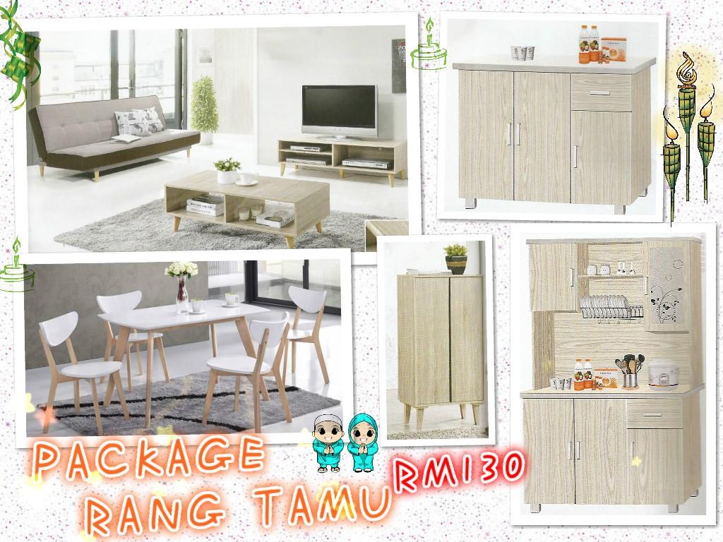 Murah Dan Mewah Ansuran Bulanan Set Perabot Rumah 7 Dalam 1 Home Furniture On Carou