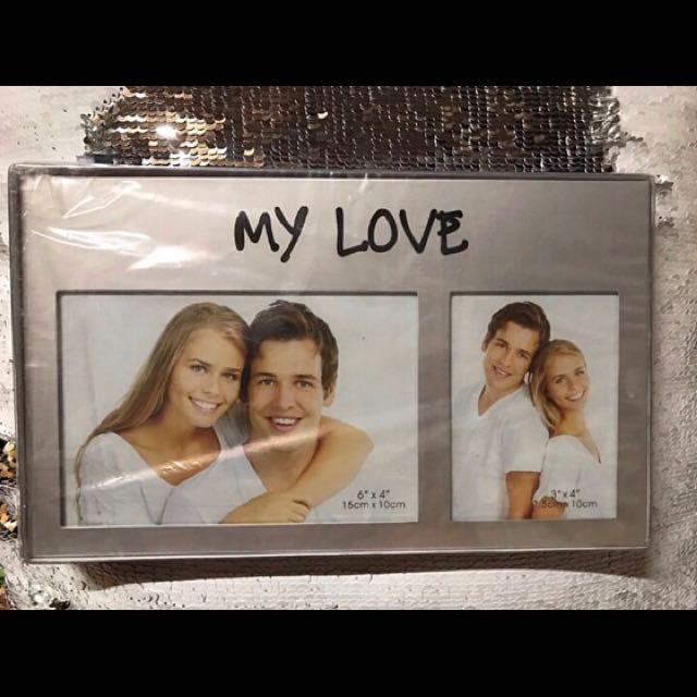 MY LOVE photo frame