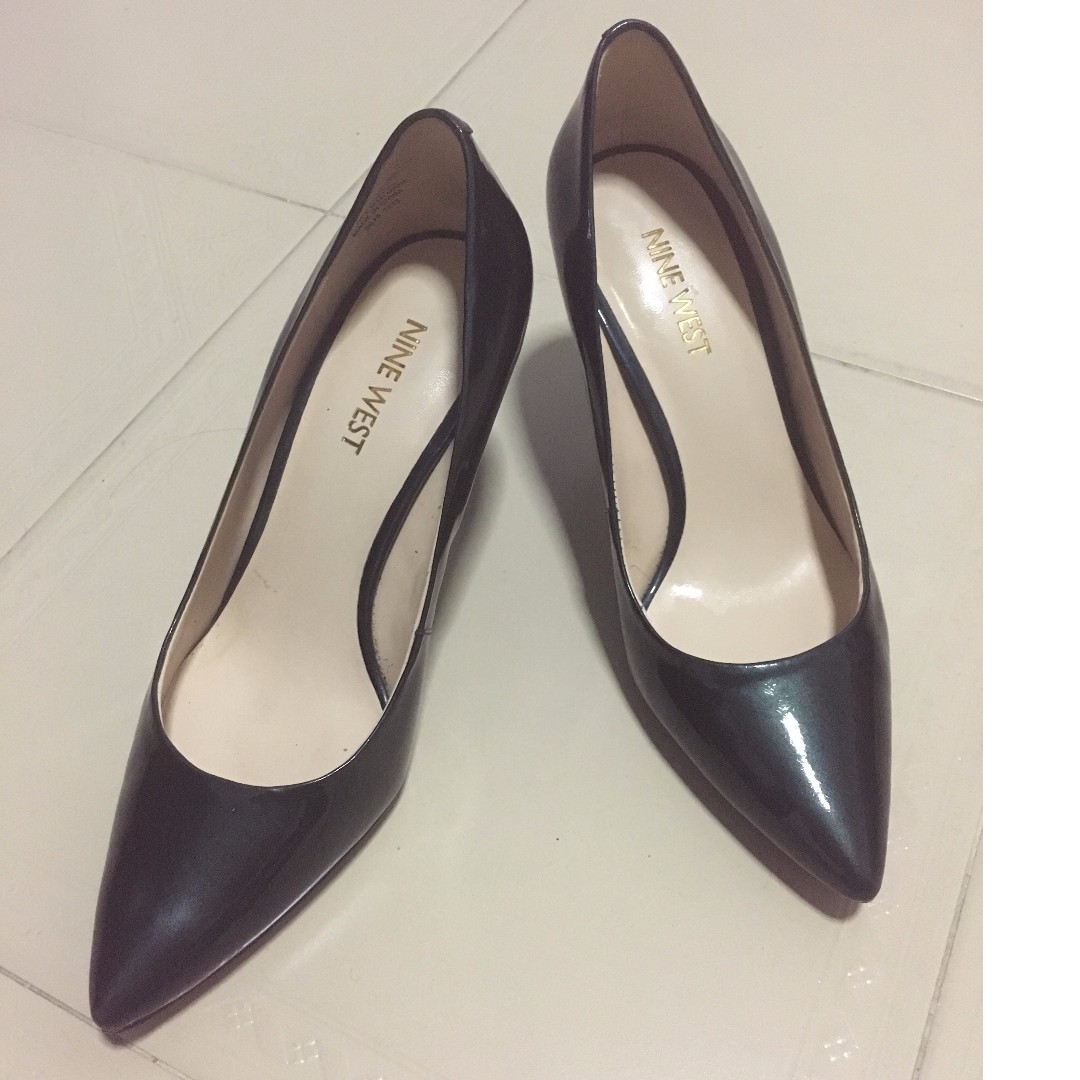 f349a5c3aa0a NINE WEST FIFTH POINTY TOE PUMPS (GREEN)
