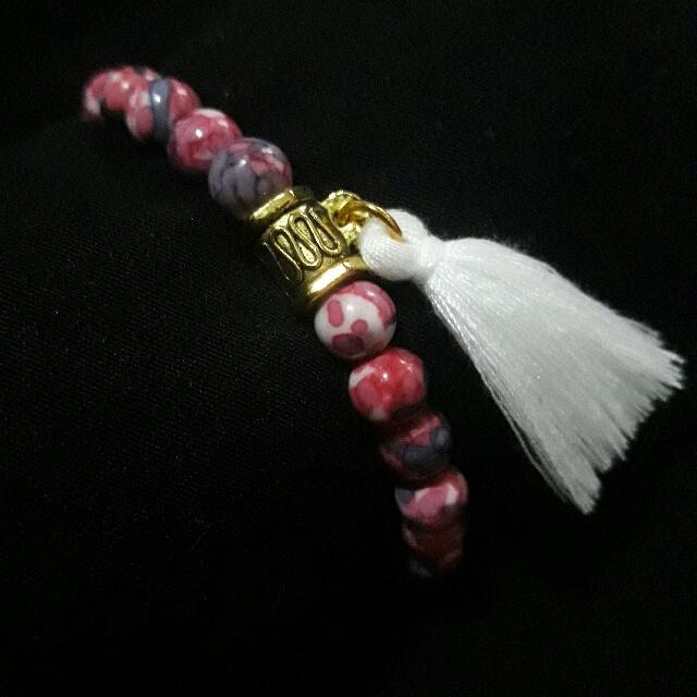 Ocean Jasper Tassel Bracelet