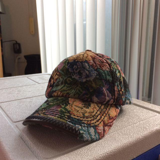 Olive & Pique Floral print cap
